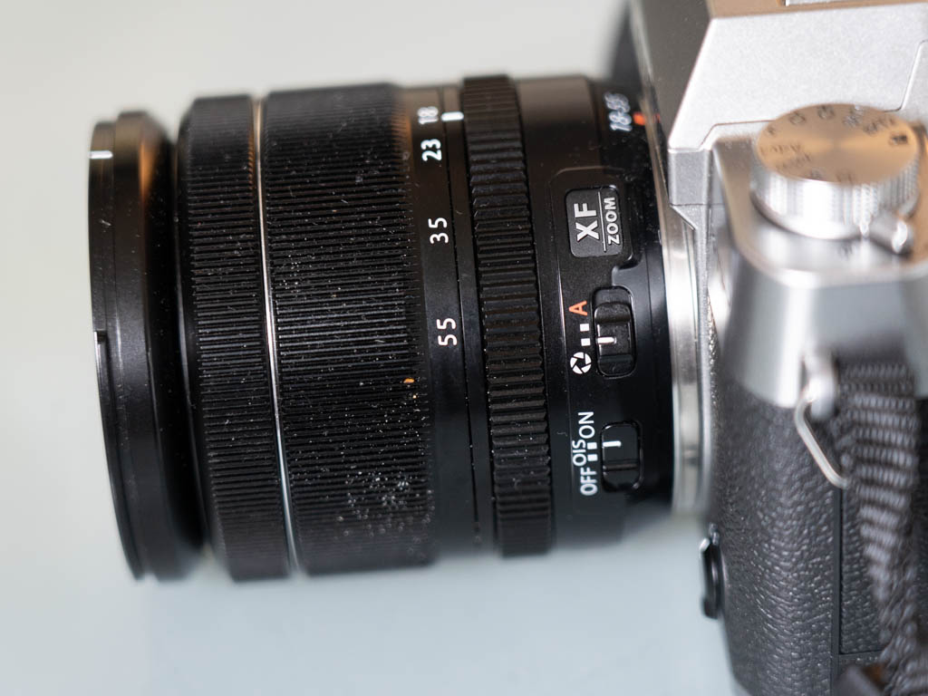 A photo of the Fujifilm XF 18-55mm f/2.8-4 R LM OIS Lens