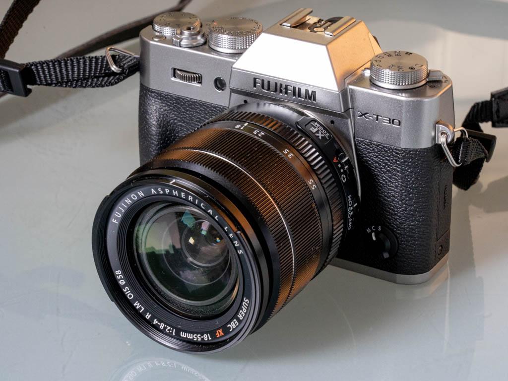 Le X-T30 de Fujifilm