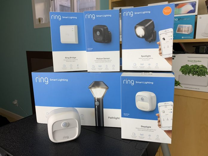 Ring smart lighting, how to, review