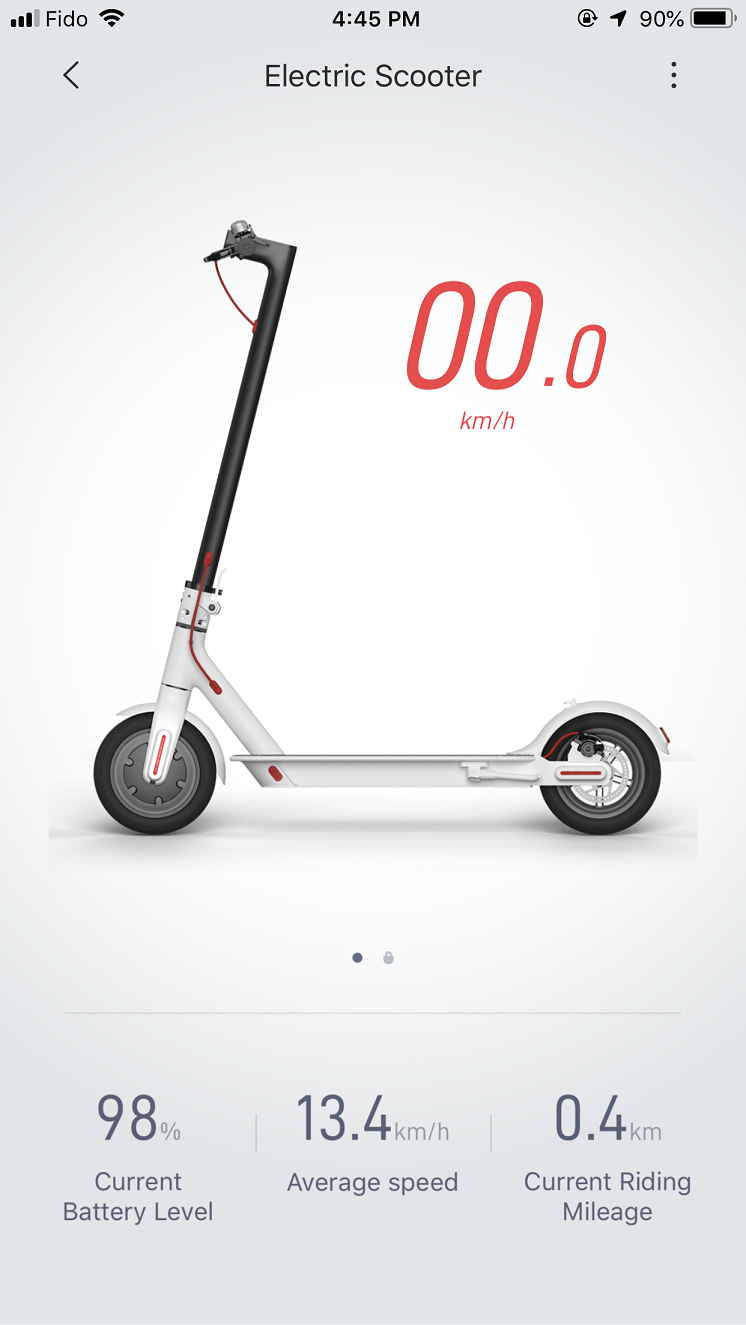 Mi Electric Scooter App