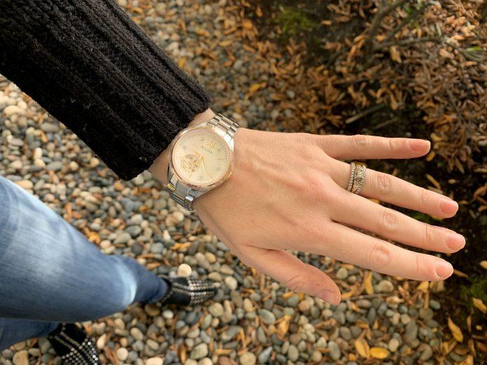 bulova watch on wrist