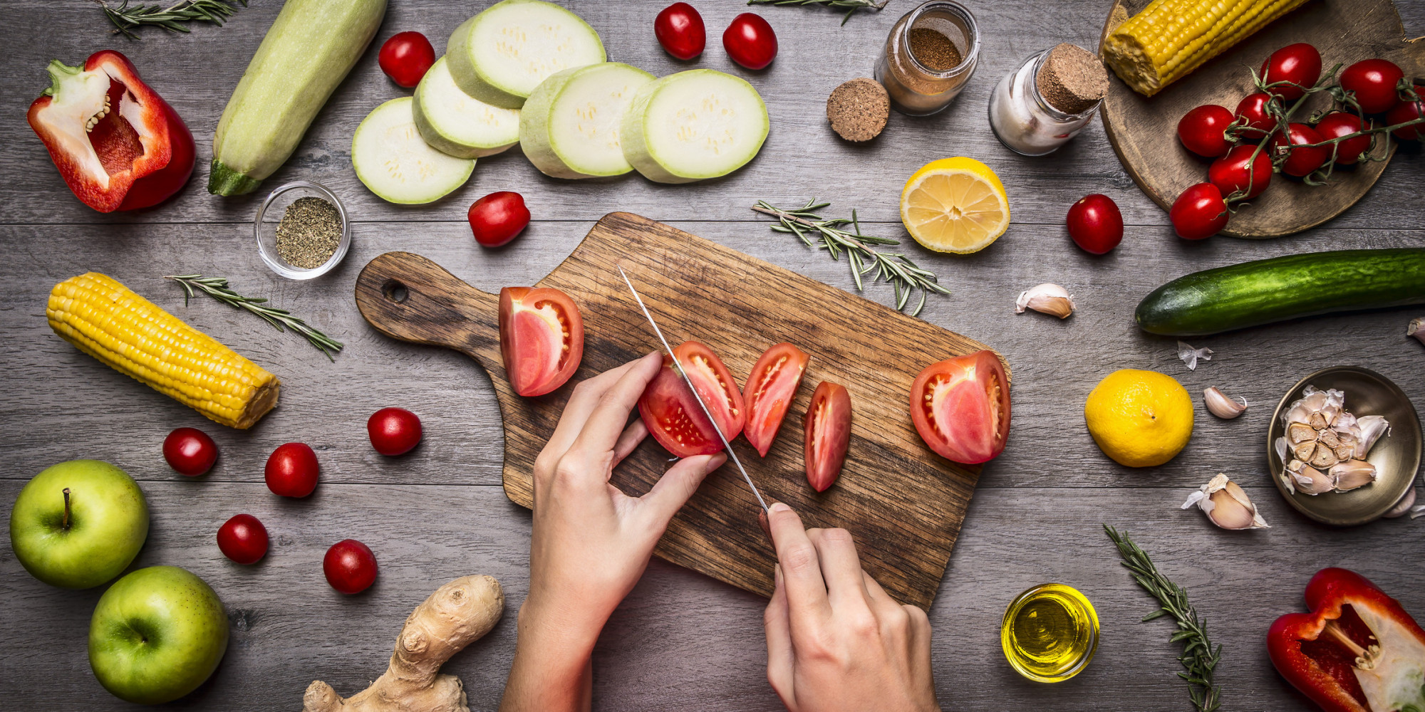 how anyone can learn to cook at home