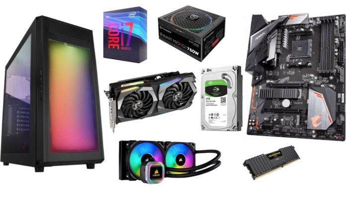 what you need to build your own PC
