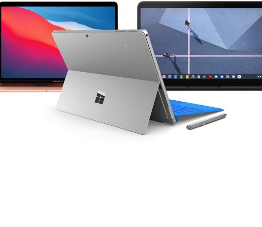 Chromebook, MacBook or Windows Laptop
