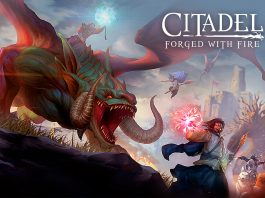 Citadel Forged with Fire key art