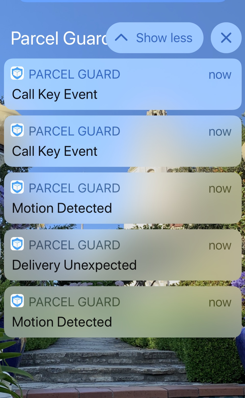 Danby Parcel Guard Notifications copy