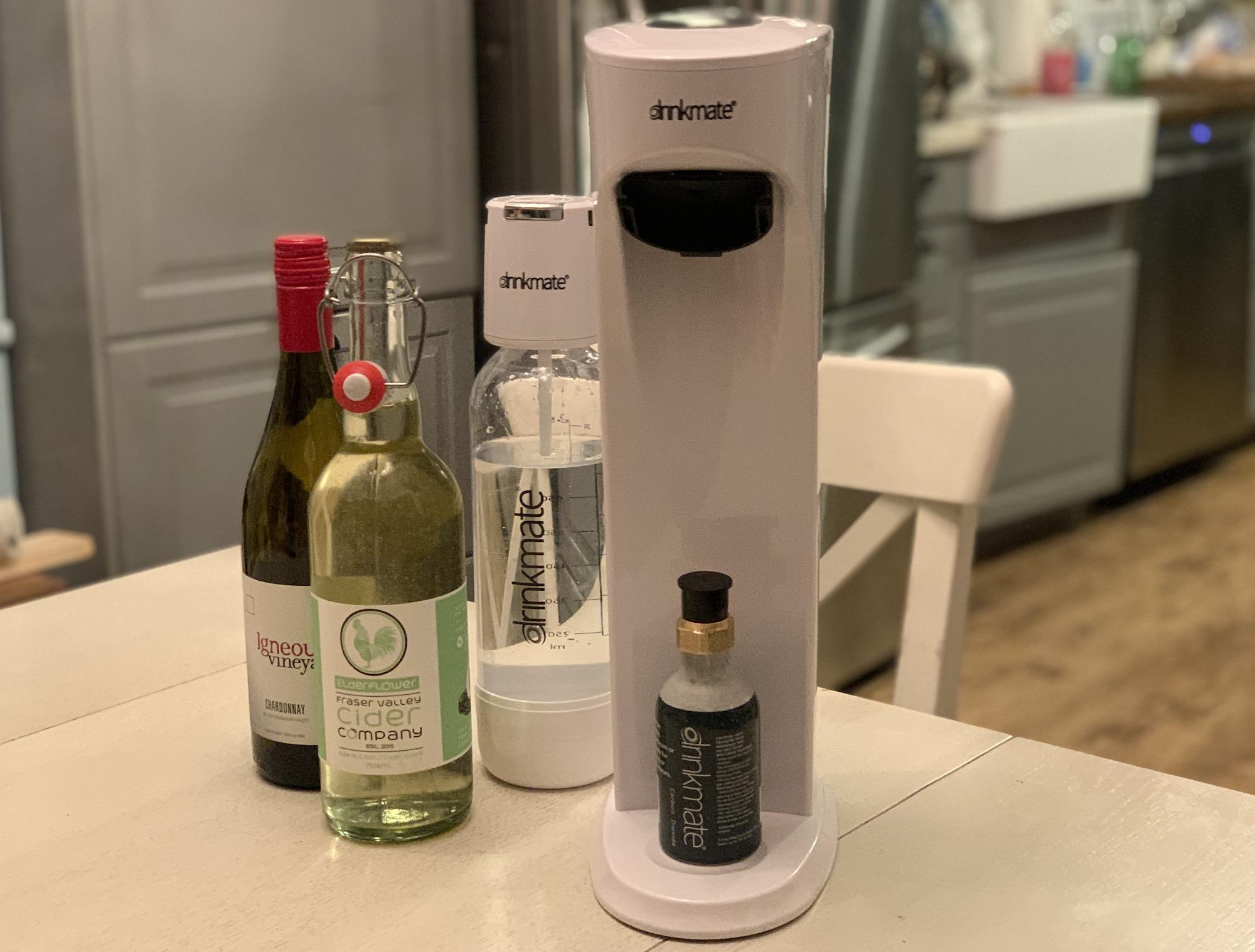 Drinkmate Soda Machine review