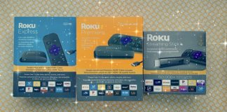 roku streaming stick, media, express, premiere, gift