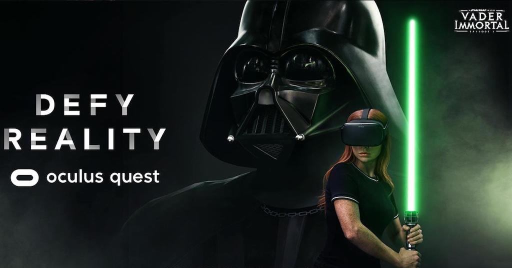 Oculus Quest Vader Immortal