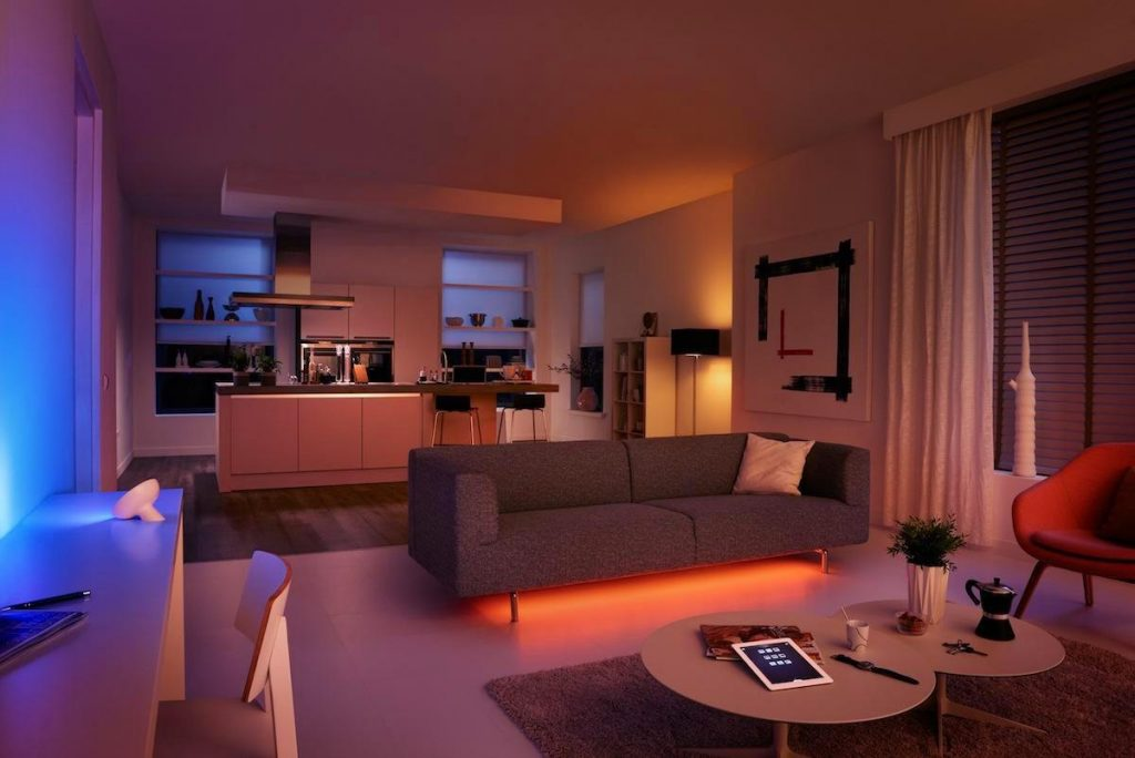 Philips Hue smart lights help daylight savings