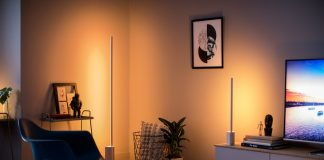 Philips Hue Lightstrips room - tech gifts under $100