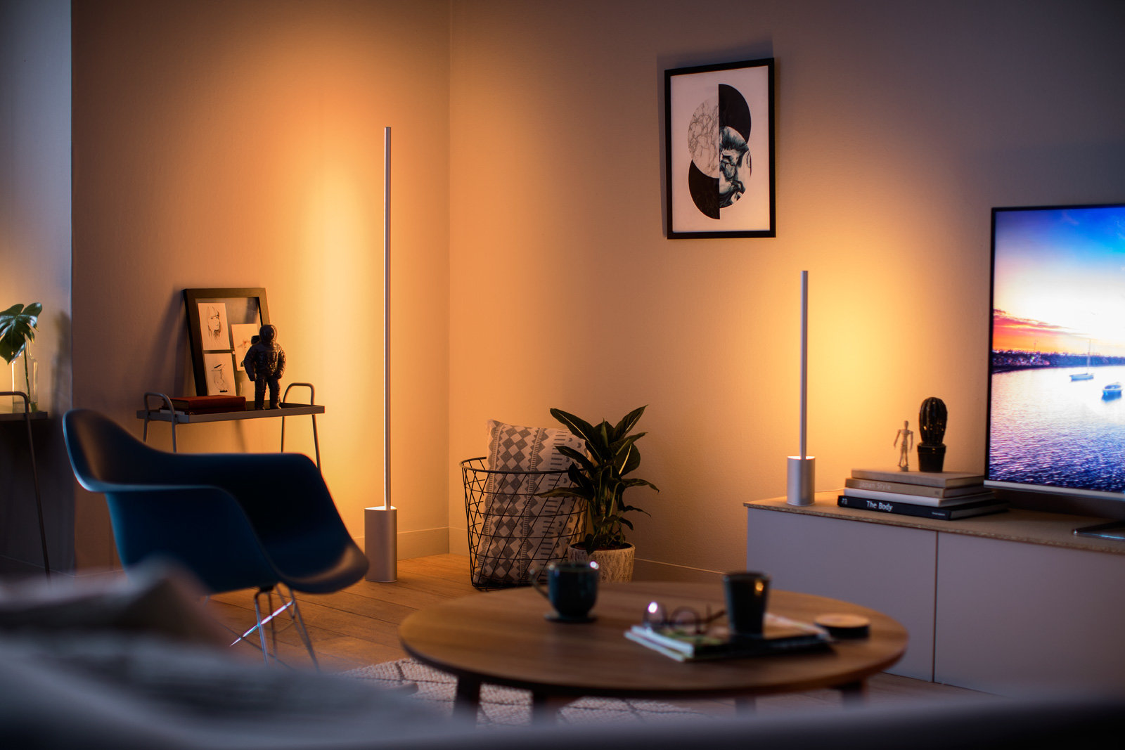 Philips Hue Lightstrips room - tech gifts under $100