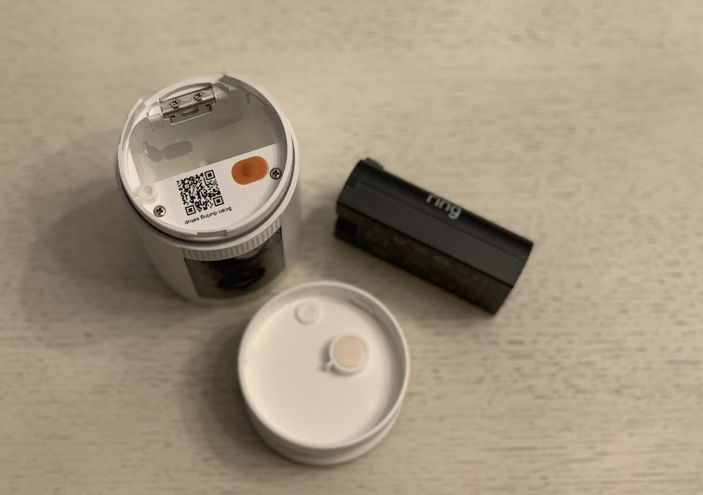 Ring Stick Up Cam Battery Charge