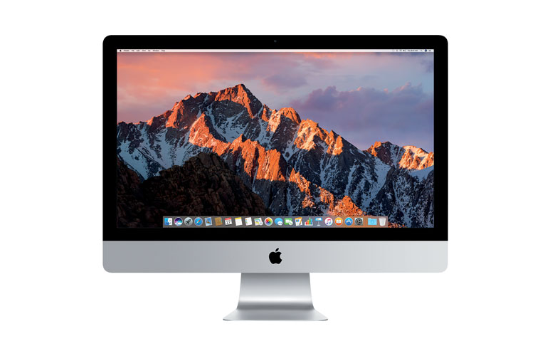 A photo of an Apple iMac