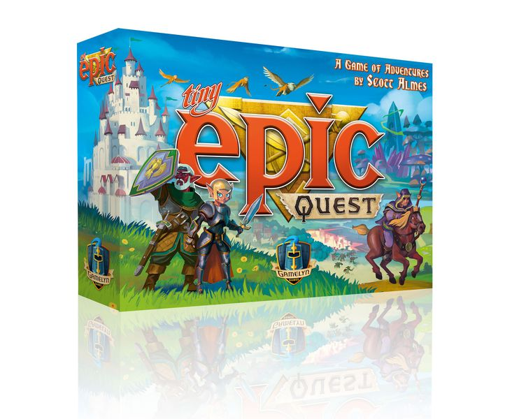 box shot of Tiny Epic Quest (new board games)