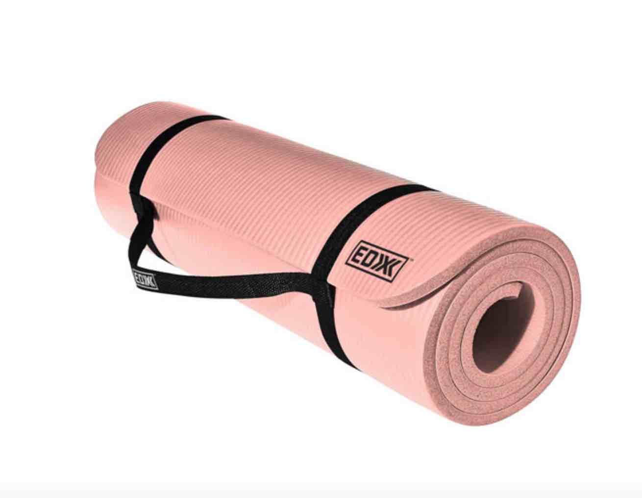 Yoga mat at home workout