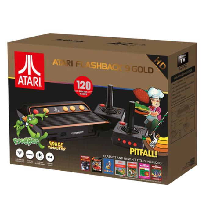 atari flashback gold console family fun