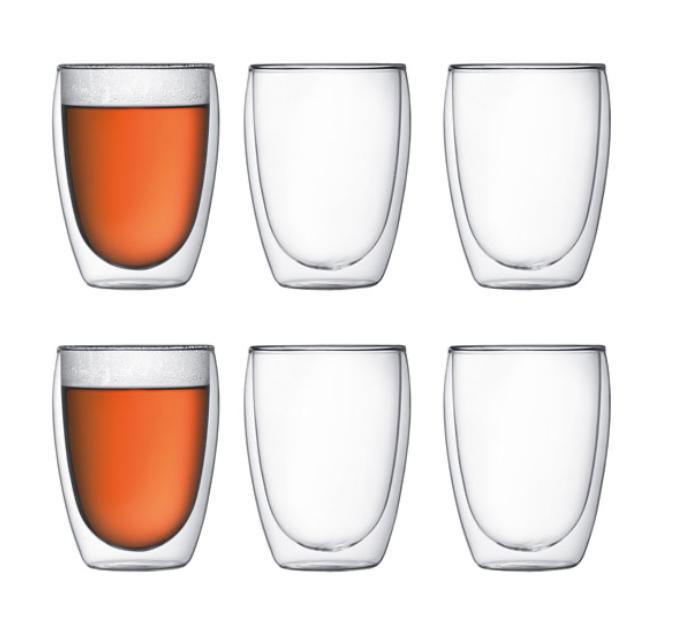 gifts for hostess - bodum pavina glass