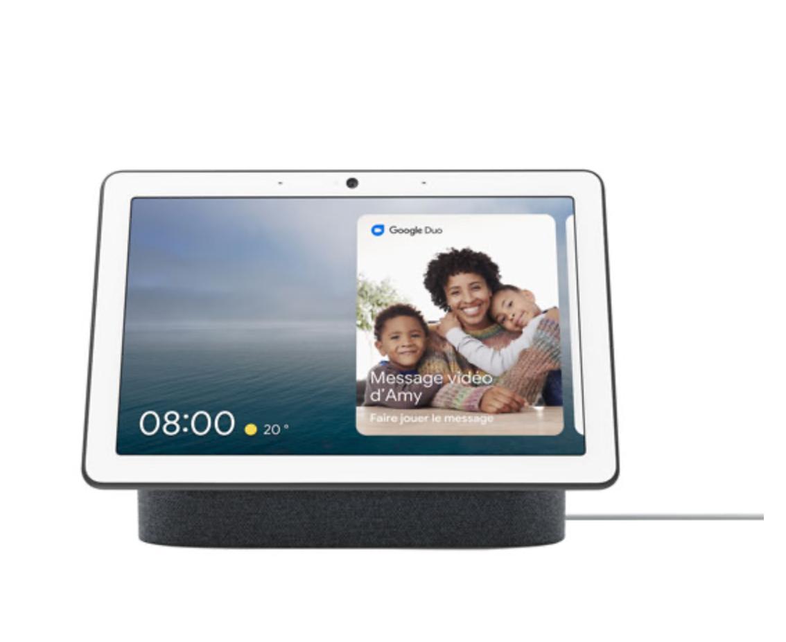 google nest hub video call