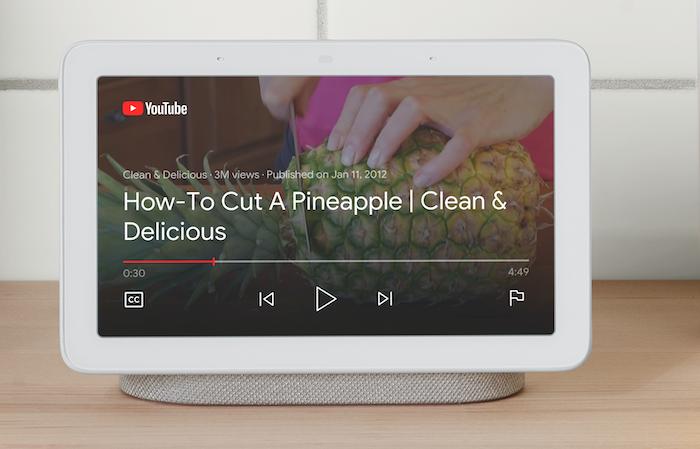google nest hub video instructions smart display