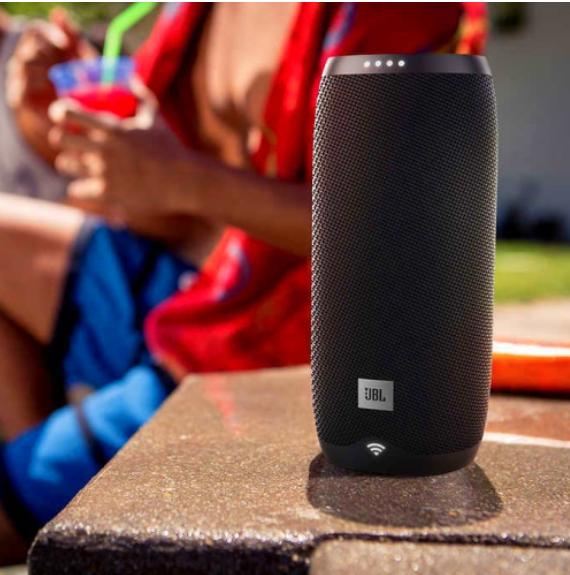 jbl link 10 portable speaker smart speaker