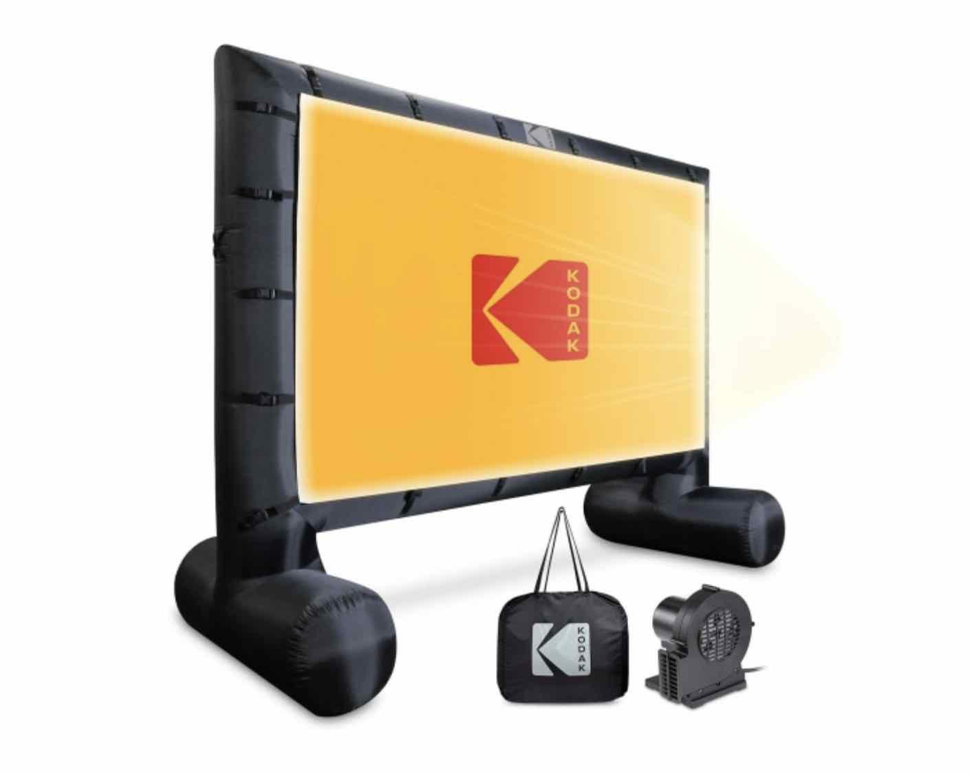 outdoor projector screen