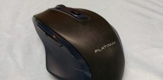 Platinum Dual Mode Wireless/Bluetooth Optical Mouse