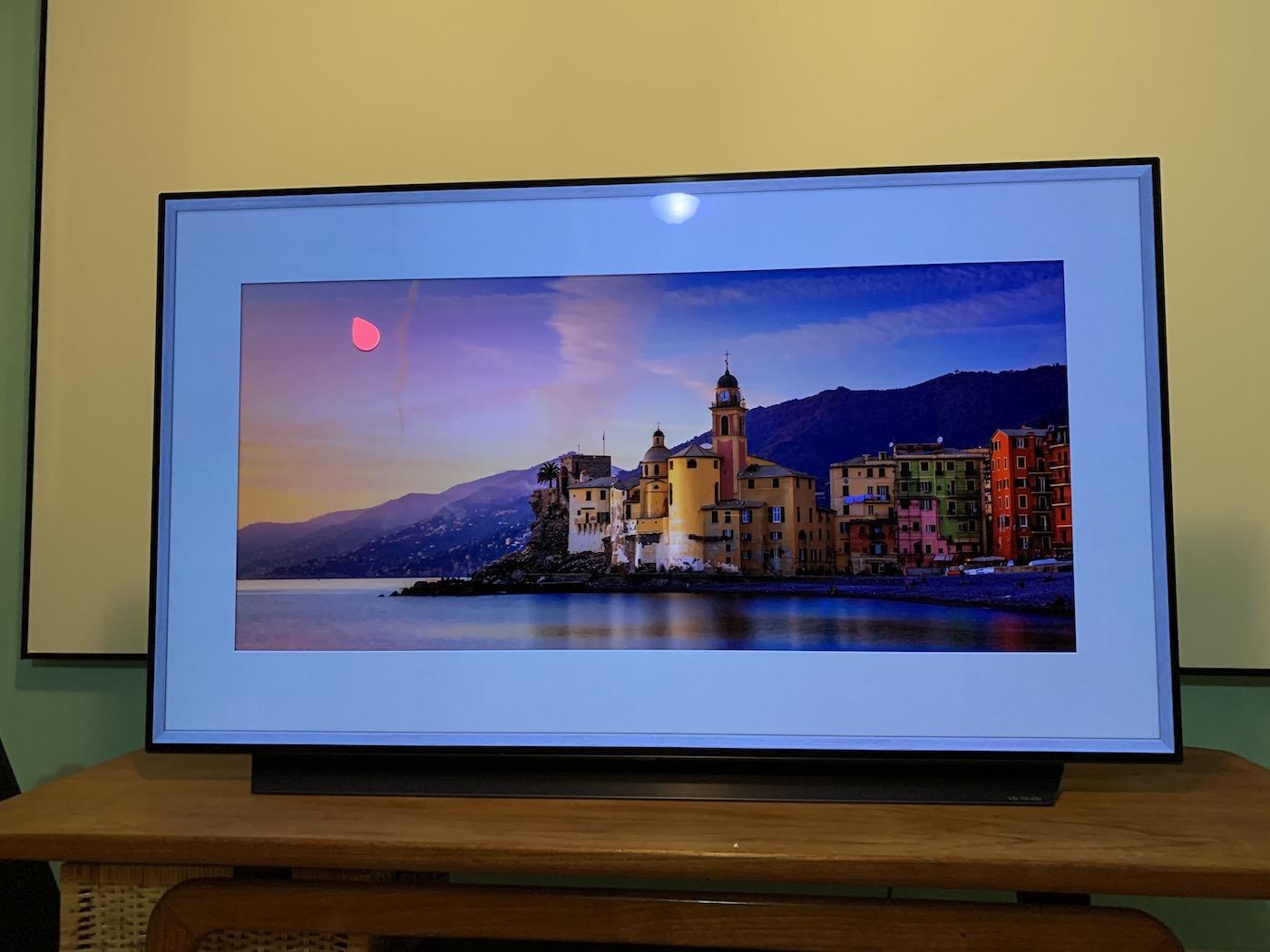 LG C9 OLED 4K TV Gallery Mode Artwork