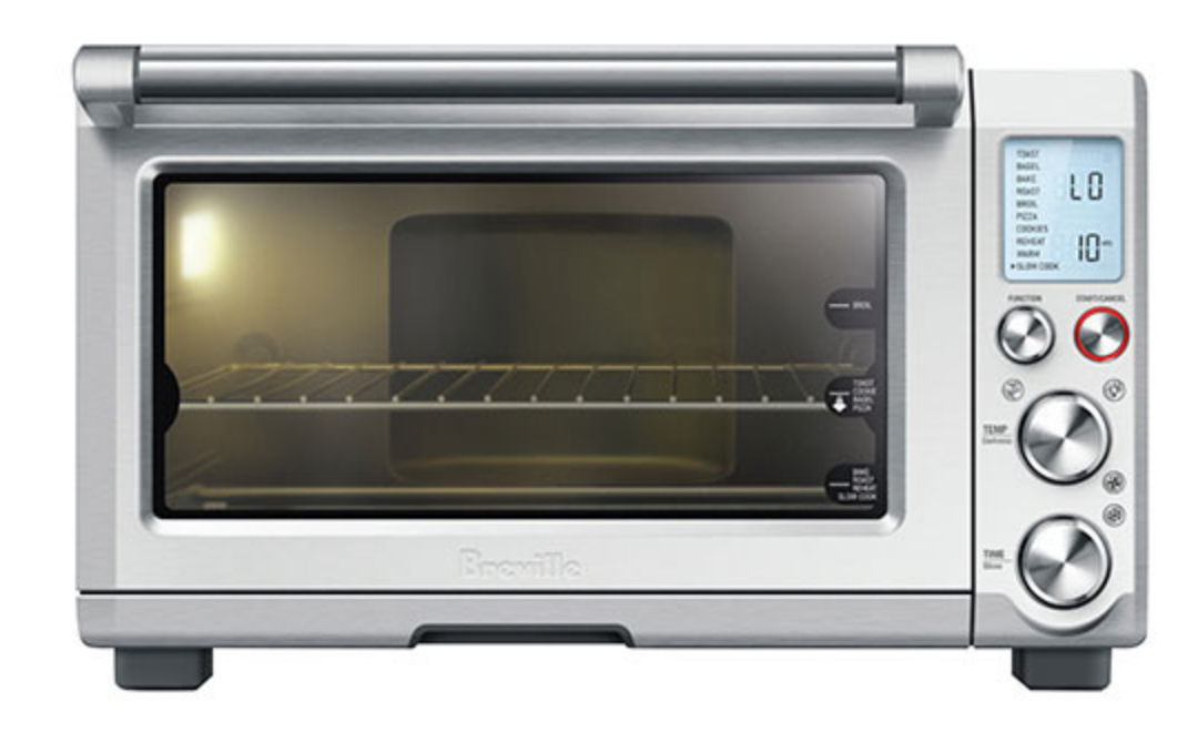 stainless steel LCD Display Breville Smart Oven Pro convection toaster oven