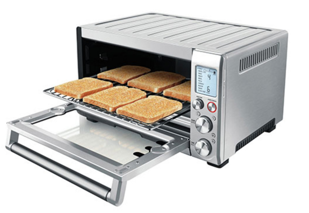 Breville Smart Oven Pro convection toaster oven bakes cookies