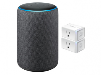 Amazon Echo or Google Home Max