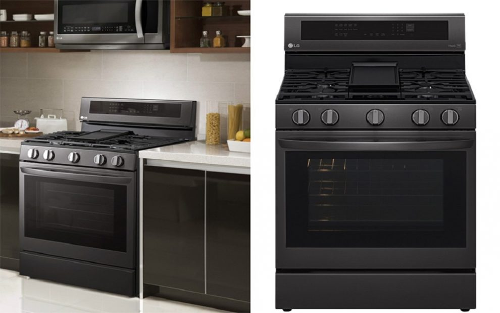 LG InstaView Oven