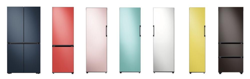 Samsung BESPOKE fridge colours