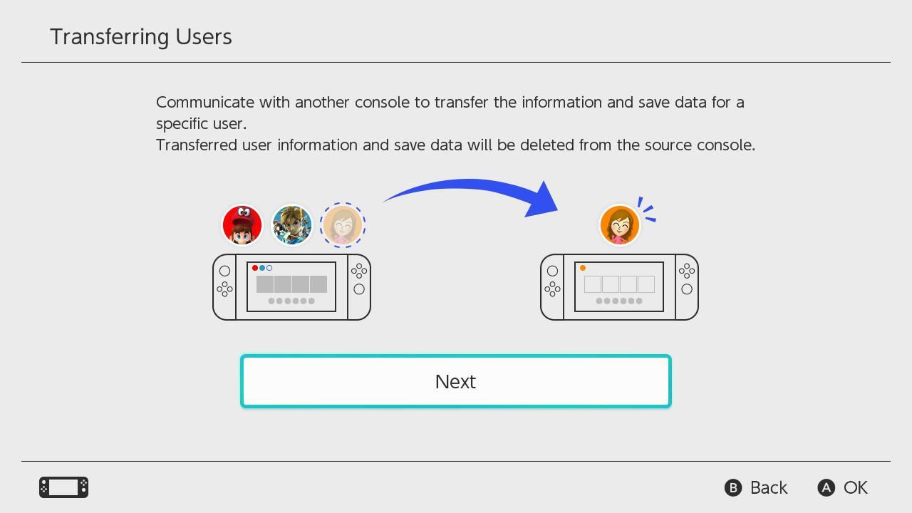 Nintendo Switch Transfer Save Data