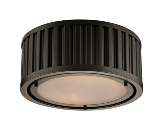 Elk Lighting Linden Manor 2 Light Flush Mount is essential in any room as they are usually t