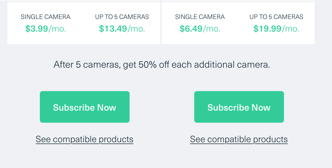 What does Arlo Smart cost in Canada?