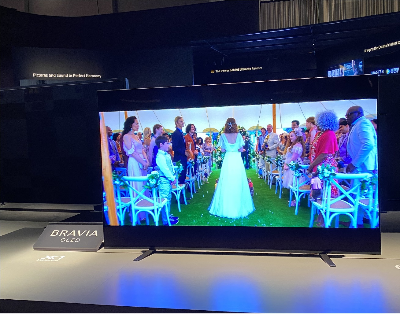 image of the new Sony A8H TV model