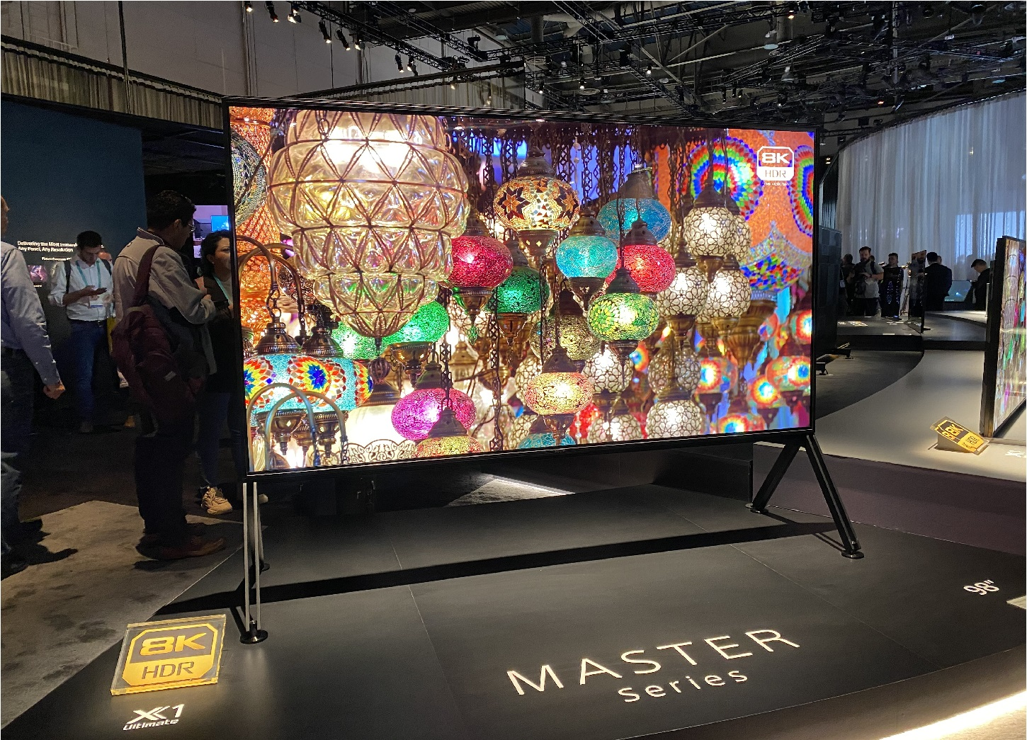 image of the new Sony ZH8 TV model