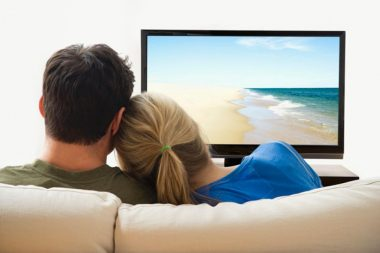 How close should you sit to your television?