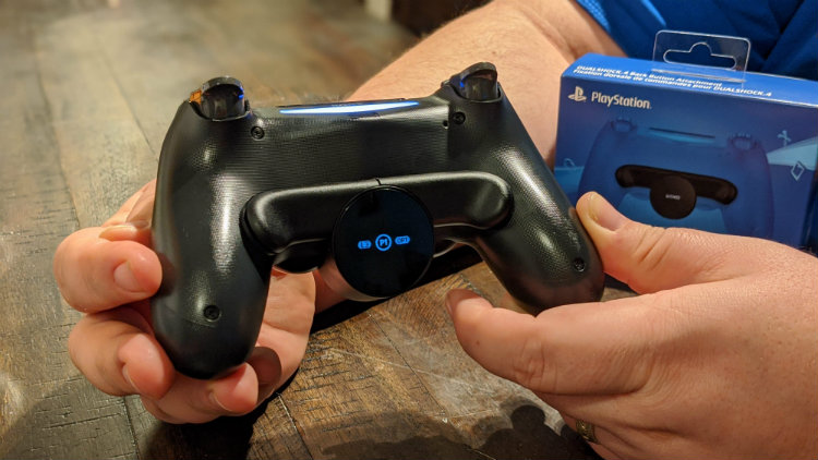 DualShock 4 back button