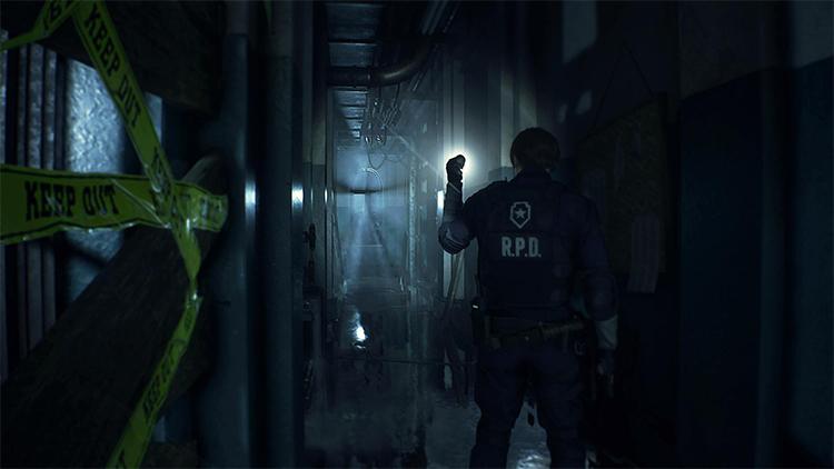 Resident Evil 2 Inky Black Levels