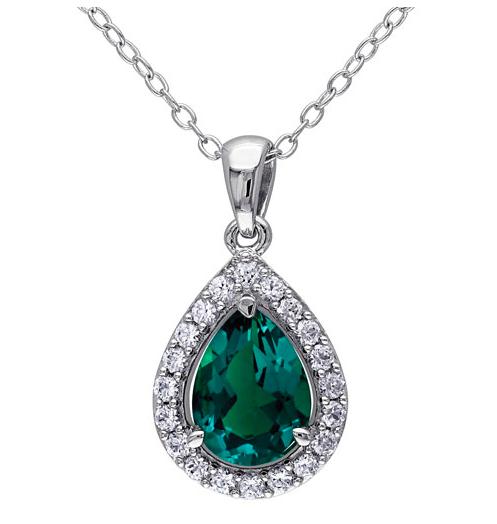 emerald coloured stones