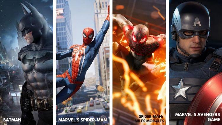 Action Adventure Superhero