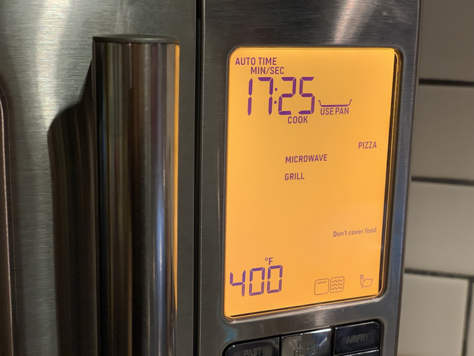 Breville 3-in-1 convection and microwave
