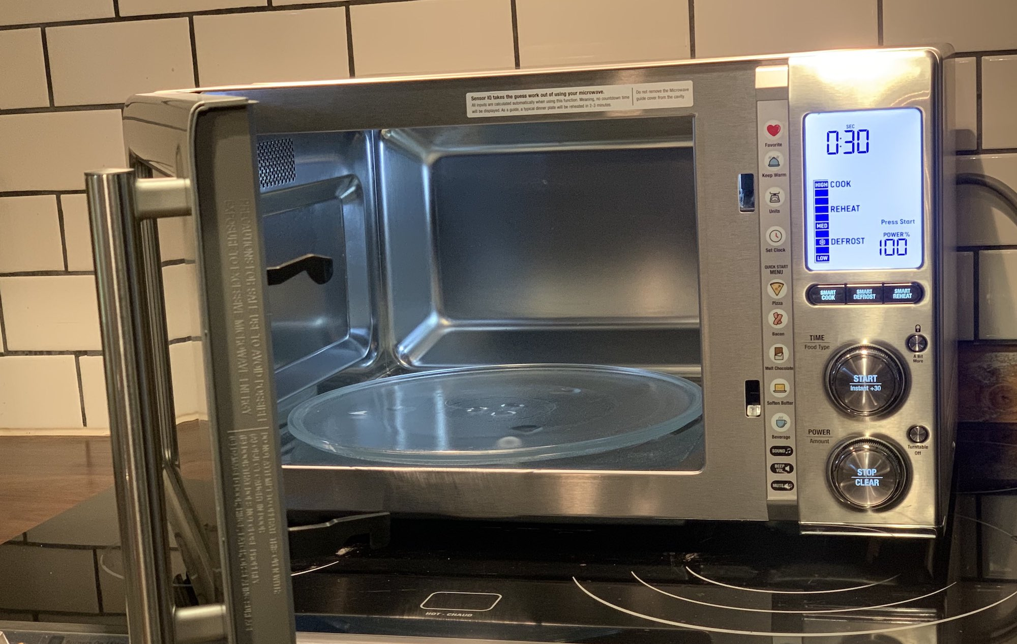 Breville Smoothwave microwave review
