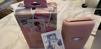 Fujifilm Instax Mini link printer photo review