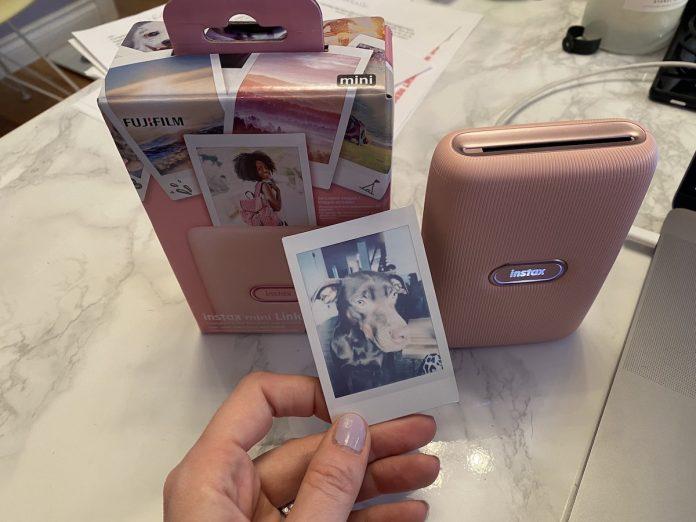 Fujifilm Instax Mini link printer photo review