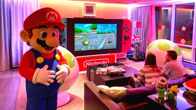 Nintendo Switch Suite - Mario Booking