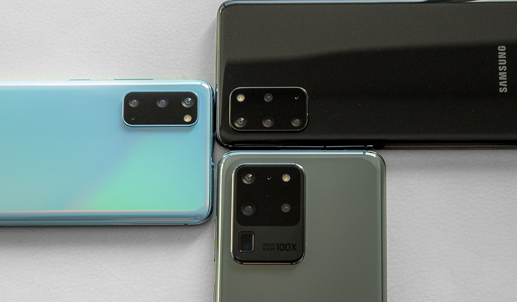 Galaxy S20, S20+, and S20 Ultra