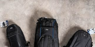 A photo of a collection of Ultimaxx camera bags